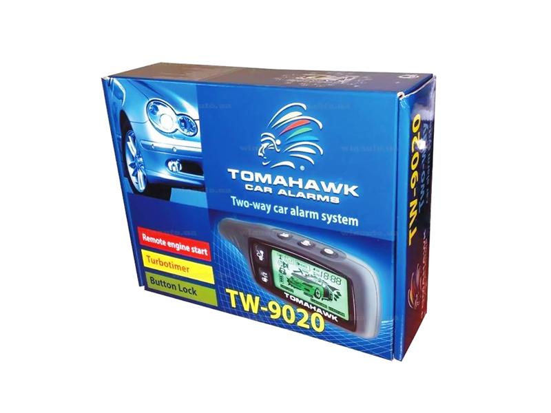 Автомобильная сигнализация Tomahawk TW-9020